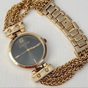 Jessica Carlyle Gold Women's Watch
